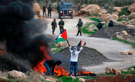 إصابات بتفريق الاحتلال لمسيرات منددة بالاستيطان بالضفة