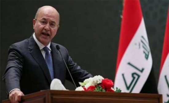 الرئيس العراقي يدعو لعقد سياسي وتذليل الاختناقات السياسية