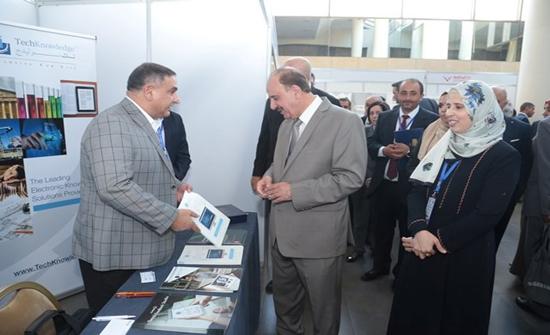 بدء فعاليات المؤتمر الدولي الخامس في النشر الإلكتروني لمكتبة (الأردنية)