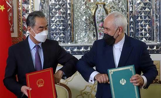 سفير إيران لدى بكين: وثيقة التعاون بين إيران والصين ليست ضد دولة ثالثة