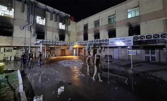 القضاء العراقي يقرر توقيف مدير مستشفى ابن الخطيب