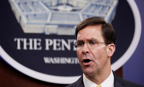 وزير الدفاع الأمريكي: وباء كورونا أثر على درجة الاستعداد العسكري للولايات المتحدة