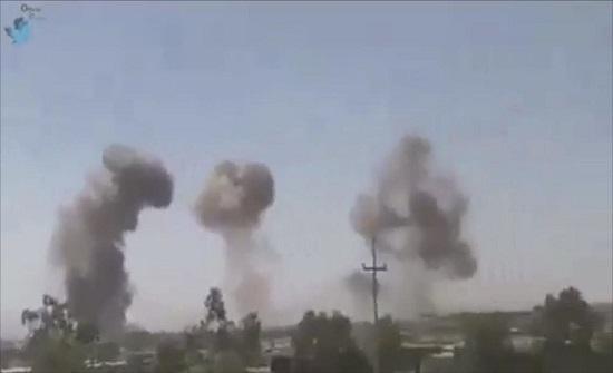هجوم صاروخي يستهدف قاعدة بلد الجوية في محافظة صلاح الدين العراقية