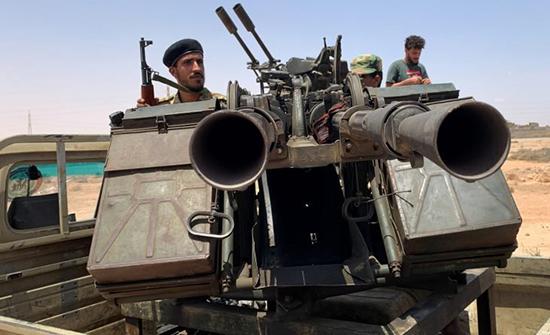 قوات حكومة الوفاق الليبية تتوجه للجبهة مع اقتراب معركة سرت- (صور)