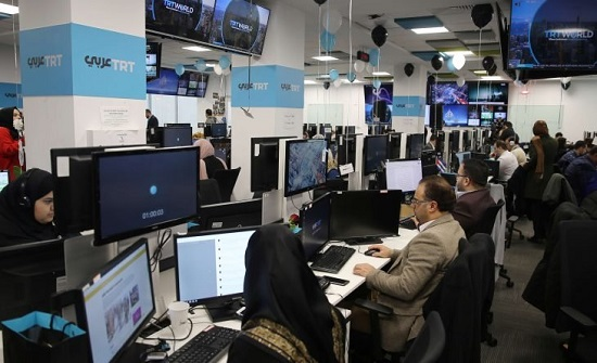 """""""تي آر تي"""" التركية تطلق منصة إخبارية باللغة الروسية"""