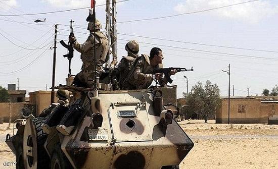 مصر.. مقتل 15 إرهابيا باشتباكات غرب العريش