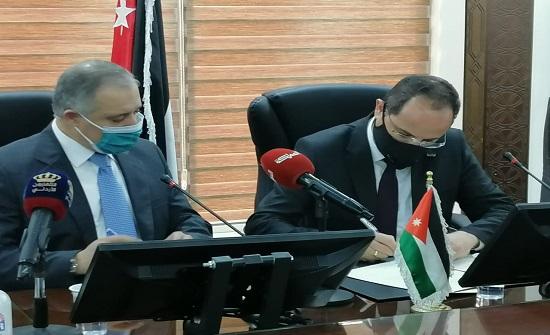 وزير العمل يوقع 3 اتفاقيات تعاون بين مؤسسة التدريب المهني مع جامعات الشرق الأوسط والأمريكية واليرموك
