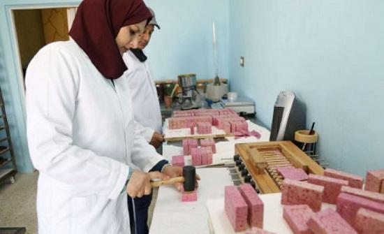 أردنية تنتج صابوناً من حليب الإبل فقط
