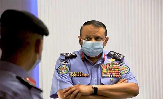 مدير الأمن العام ينشر فيديو صوره عامل وطن .. شاهد