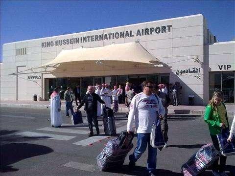 انقطاع الكهرباء لم يؤثر على مطار الملك حسين الدولي بالعقبة