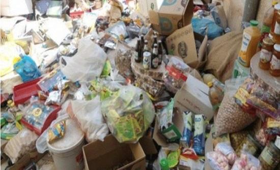 الزرقاء: اتلاف 1200 كيلوغرام من المواد الغذائية الفاسدة