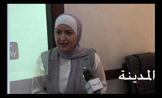 ميادة شريم  رئيسة ملتقى البرلمانيات : الإعلام ركن مهم في تمكين المرأة الأردنية
