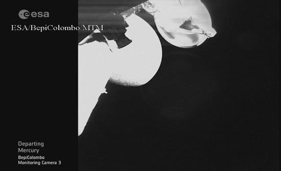 """بالفيديو.. مسبار """"بيبي كولومبو"""" يلتقط أول صوره لكوكب عطارد"""