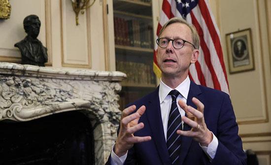 هوك: يجب تمديد حظر سلاح إيران لأجل غير مسمى