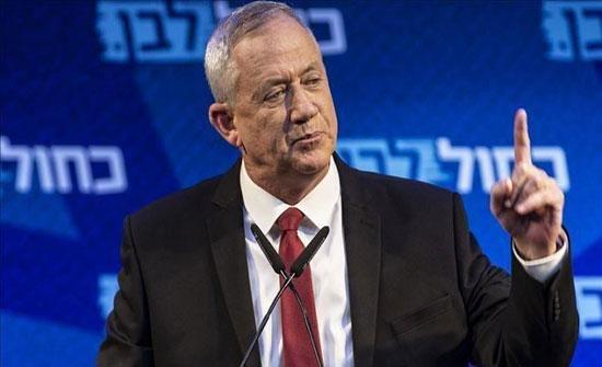 غانتس يطالب بتشديد الضربات بغزة والعودة لاغتيال قيادات