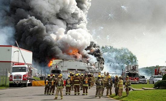 انفجار بمصنع كيميائي في ولاية تكساس الأمريكية (فيديو)
