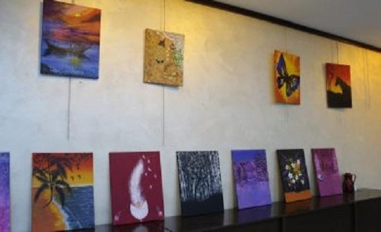 افتتاح معرض سبعين الفني