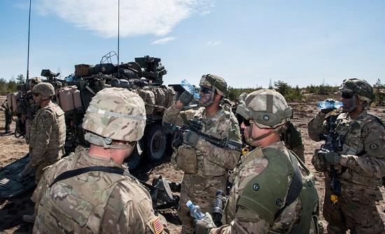 البنتاغون: نحو 2600 عسكري أمريكي في أوروبا قيد الحجر الصحي بسبب تفشي كورونا