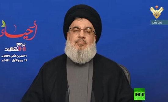 اخر تعليق لـنصرالله ..على احداث لبنان