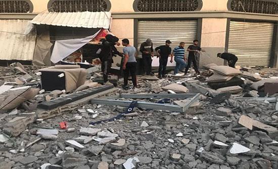 حماس : لا مانع بأن تتدخل أي جهة للجم العدوان على غزة