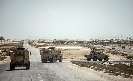 مقتل ضابط ومجند مصريين بهجوم غرب سيناء