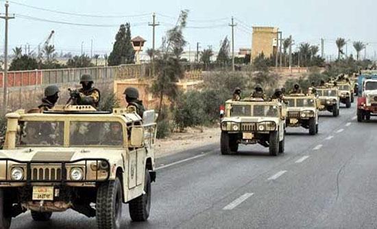 مقتل 13 إرهابياً في مواجهة مع الشرطة المصرية بالعريش