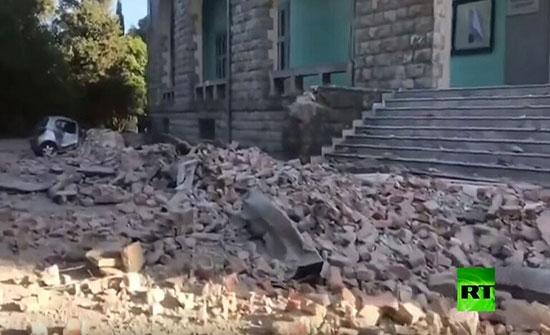 بالفيديو :إصابة أكثر من 100 شخص إثر زلزال في ألبانيا