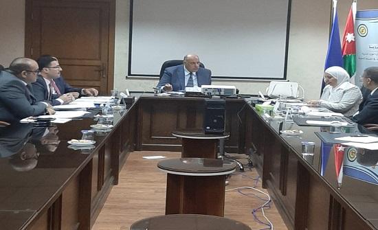 اللجنة التوجيهية لمعهد الإدارة العامة تعقد اجتماعها الثاني