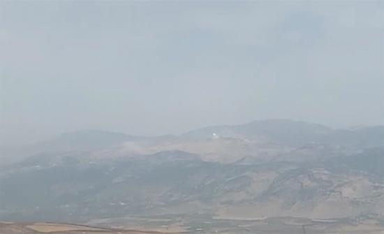 """بالفيديو : سماع دوي انفجارات وإطلاق نار جنوب لبنان والجيش الإسرائيلي يعلن عن """"حادث أمني"""""""
