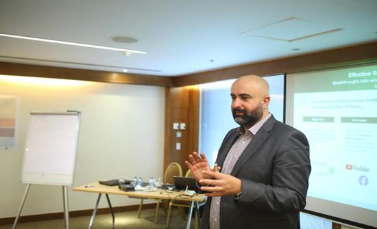 """ريادة أعمال """"الشرق الأوسط"""" تشارك بإطلاق برنامج إدارة الابتكار الجديد لمركز الملك عبدالله الثاني للتميز"""