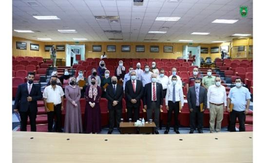 """""""الأردنية """"تخرّج موظفيها المشاركين في الدورات التدريبية"""