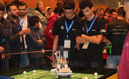 اختتام فعاليات البطولة الوطنية الخامسة عشرة للروبوت