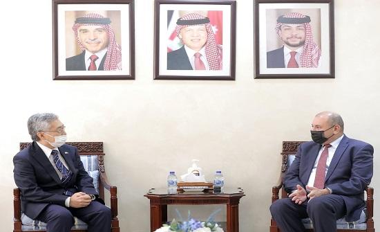 رئيس مجلس النواب يلتقي سفيري اليابان والبوسنة