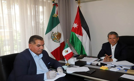 السفير المكسيكي: الأردن مؤهل ليكون بوابة لمنطقة الشرق الاوسط ومركزا لها