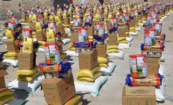 توزيع مساعدات على أسر فقيرة في اربد