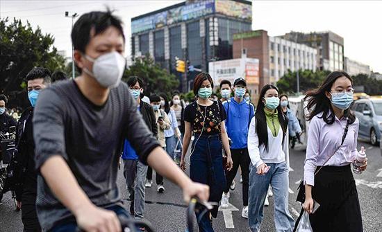 الصين تسجل 144 اصابة بفيروس كورونا