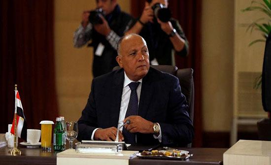 وزير خارجية مصر: لدينا مع الأردن رؤية مشتركة لتحقيق سلام عادل وشامل