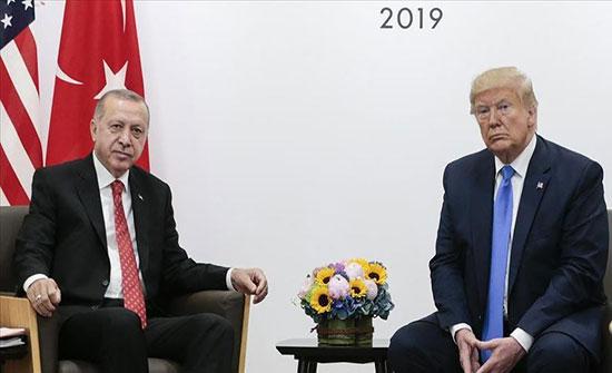 البيت الأبيض: أردوغان وترامب بحثا عددا من القضايا الإقليمية