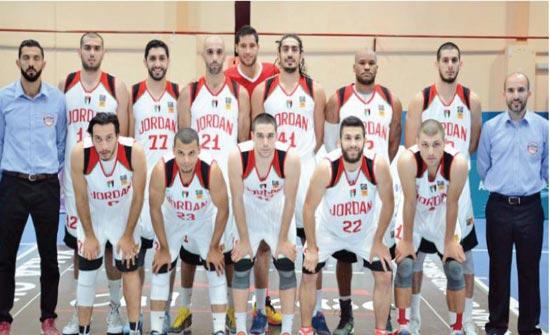 منتخب السلة يلتقي قطر غدا