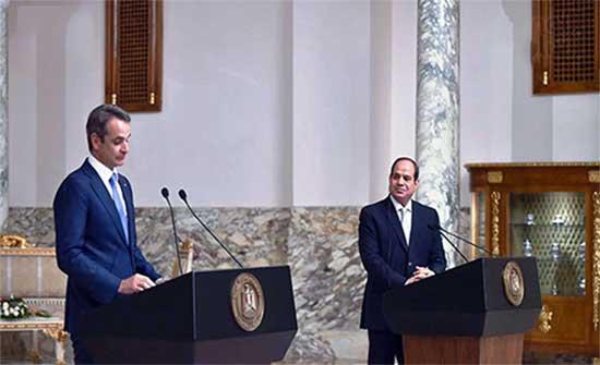 رئيس الوزراء اليونانى: ندعم موقف مصر فى قضية سد النهضة