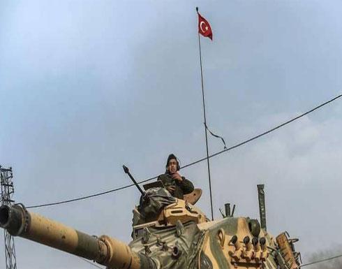 تركيا تواصل قصف الأكراد بعفرين لليوم الثالث عشر