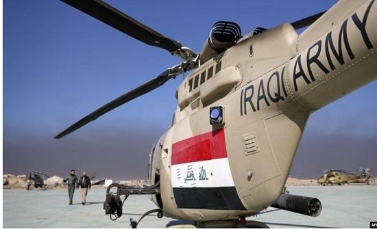 العراق: إصابة طيار بسلاح قناص إرهابي
