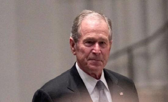 بوش يعلق على احتجاجات الولايات المتحدة