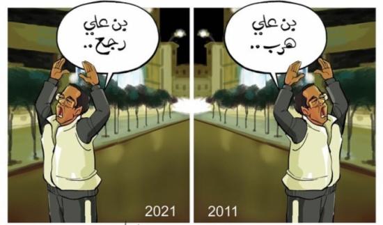 عودة بن علي لتونس