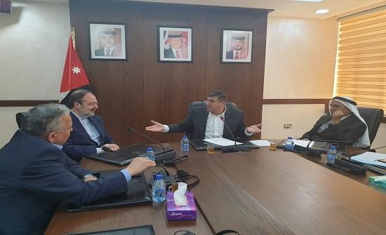 """""""فلسطين النيابية"""" تلتقي وزير الشؤون الدينية التركي السابق"""