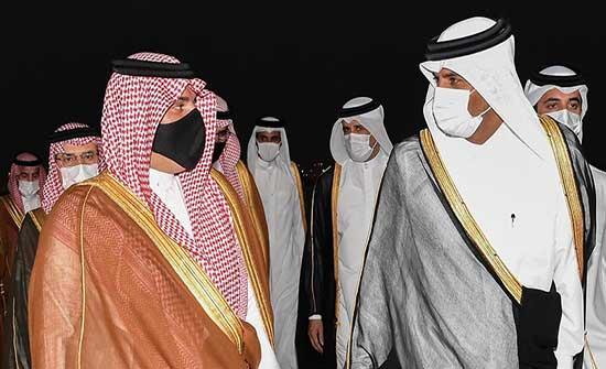 قادما من العراق.. وزير الداخلية السعودي يبدأ زيارة إلى قطر