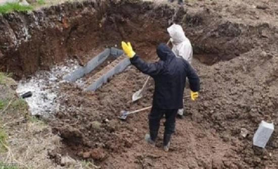 دفن متوفى كورونا السبت وفق الاجراءات