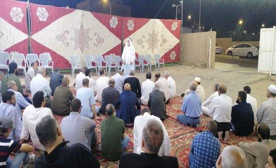 الحركة الاسلامية في العقبة تستقبل المعزين بالرئيس مرسي