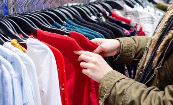 تراجع اسعار الألبسة بنسبة 20 بالمئة