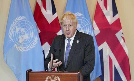 """رئيس الوزراء البريطاني: الإدارة الأمريكية """"ملتزمة بشدة بمعالجة تغير المناخ"""""""